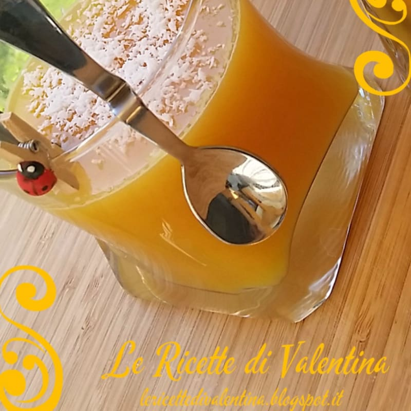 Foto Ricetta Orange juice with a spoon