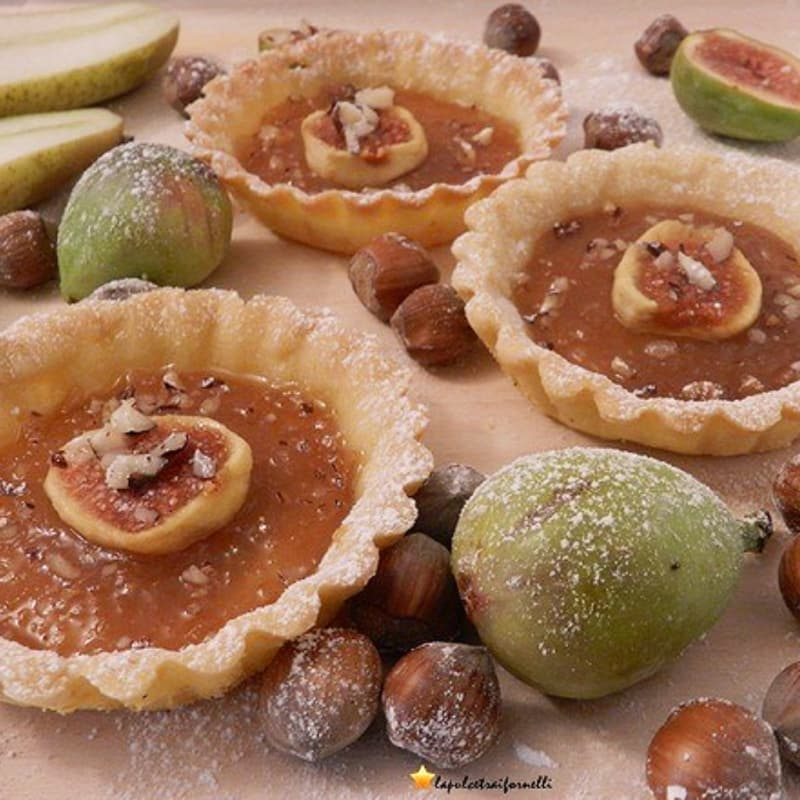 Foto Ricetta Crostatine the autumn