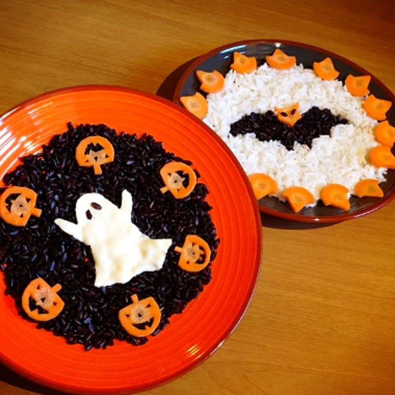 Foto Ricetta Risotto spooky halloween