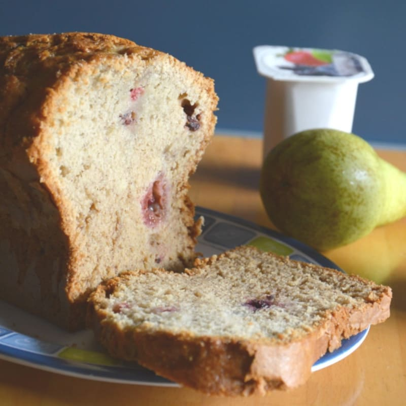 Foto Ricetta Banana bread with wild fruits