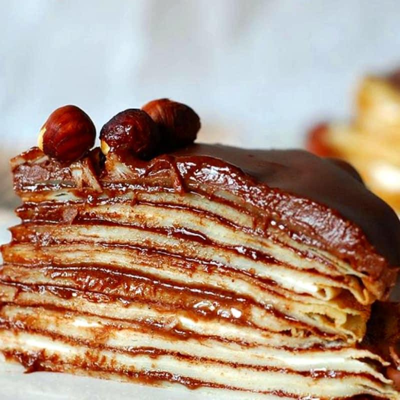 Foto Ricetta crepes cake