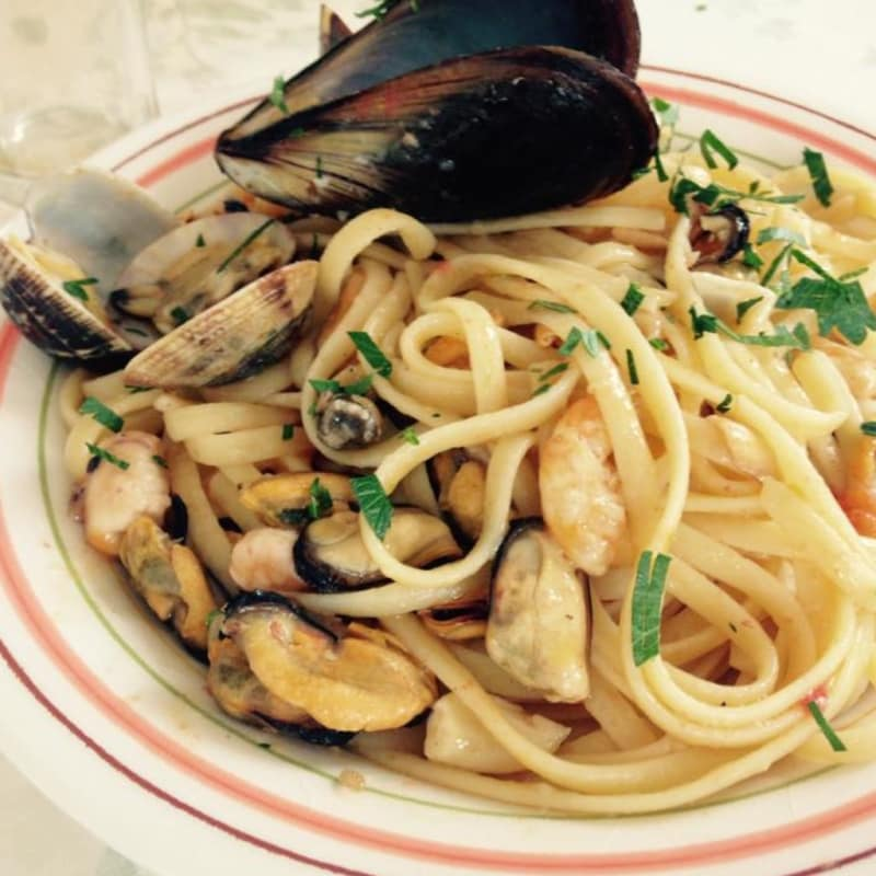 Foto Ricetta Linguine with seafood