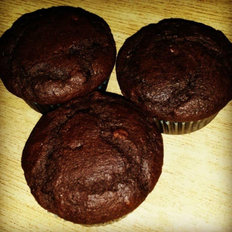 Foto Ricetta Vegan chocolate muffins