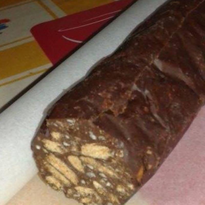 Foto Ricetta Salame al cioccolato veg