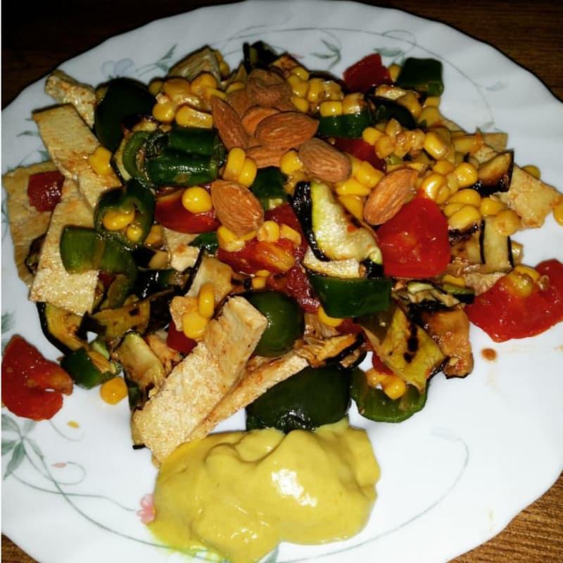 Foto Ricetta Tofu colorato