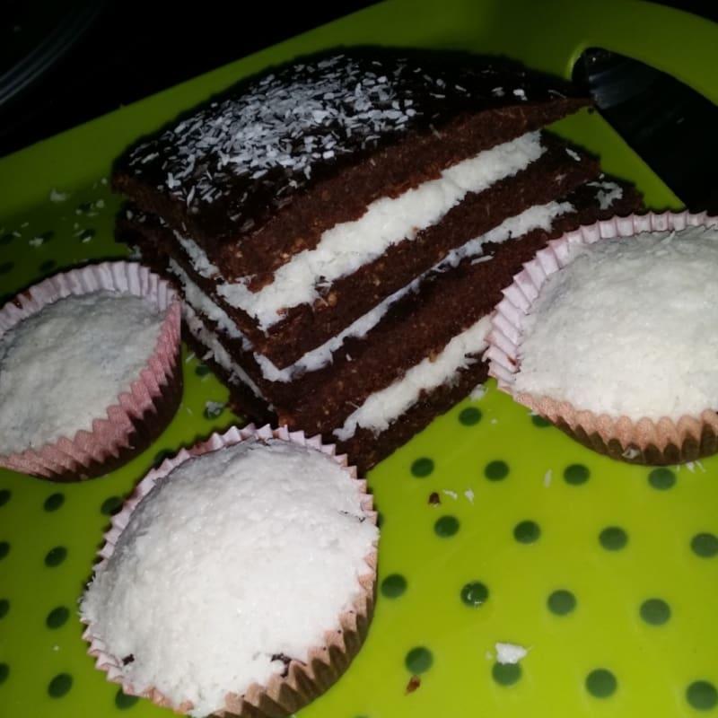 Foto Ricetta Torta cioccolato e cocco
