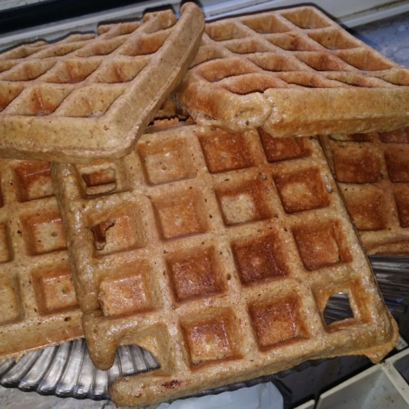 Foto Ricetta Waffle vegani