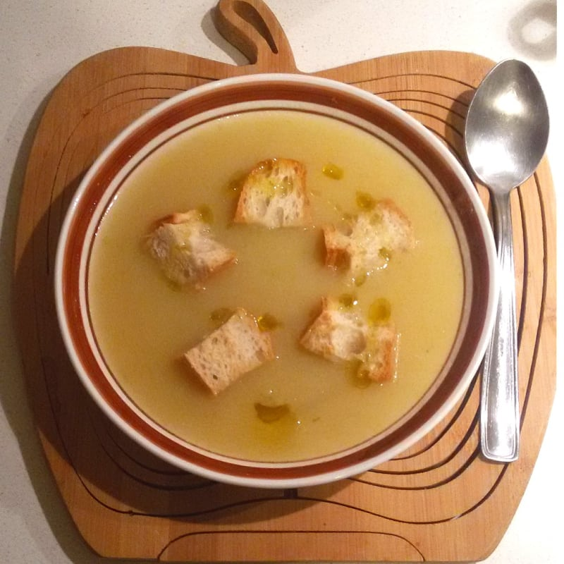 Foto Ricetta Soup of leeks and potatoes