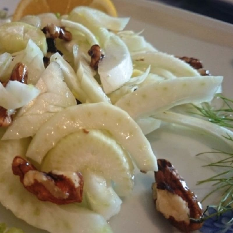 Foto Ricetta fennel salad and walnuts