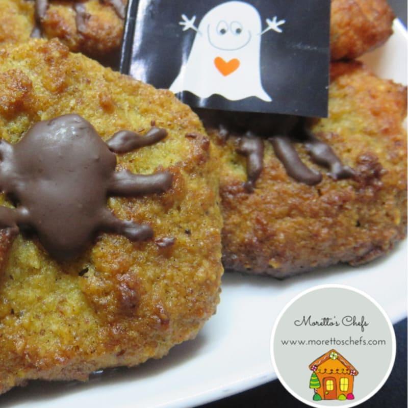 Foto Ricetta Halloween cookies di mandorle