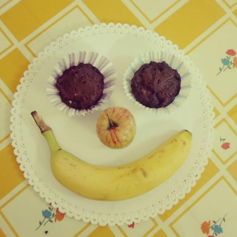 Foto Ricetta Muffin al cioccolato e mandorle