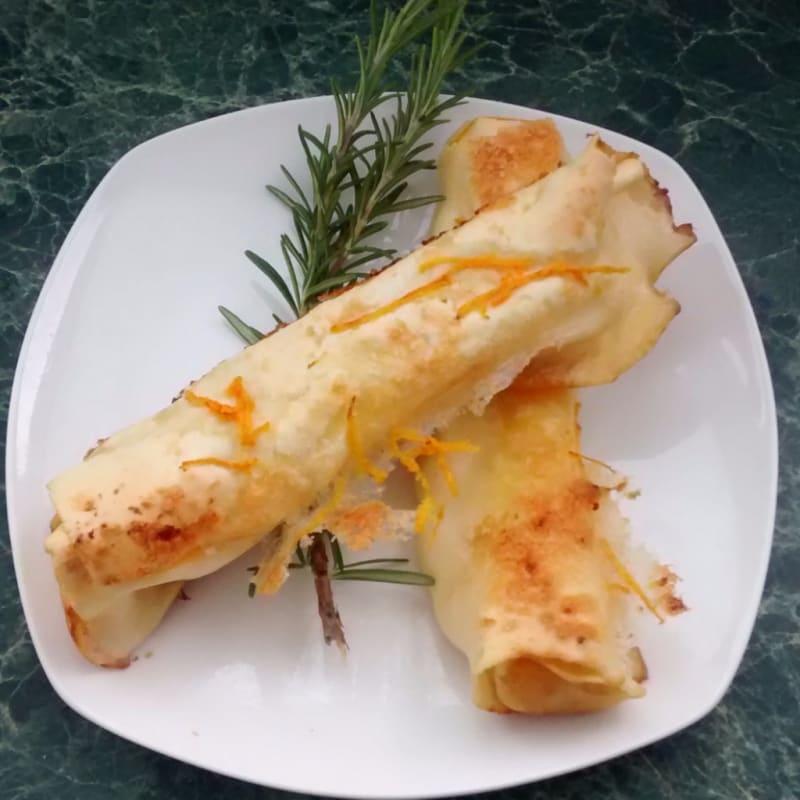 Foto Ricetta Cannelloni di ricotta e zucca