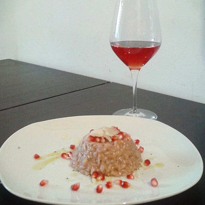 Foto Ricetta Risotto with pomegranate