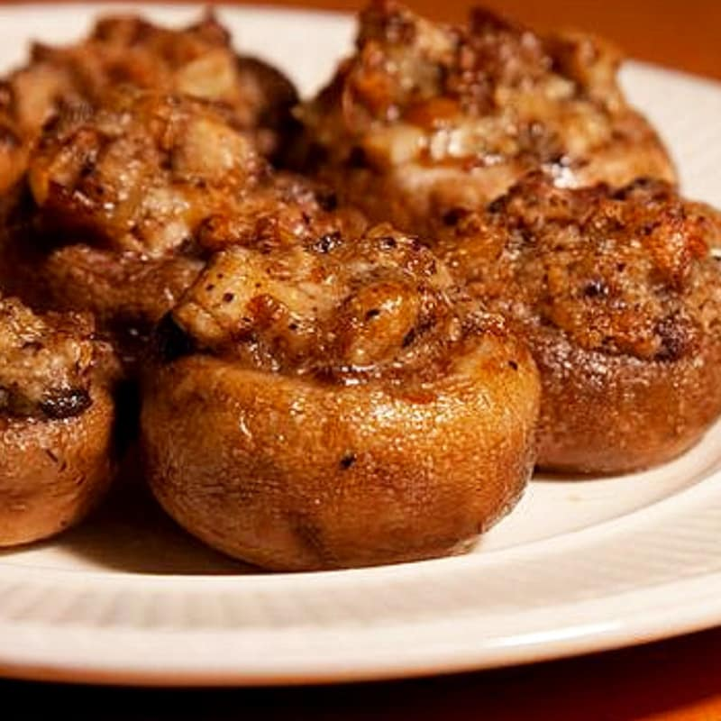 Foto Ricetta Baked mushrooms