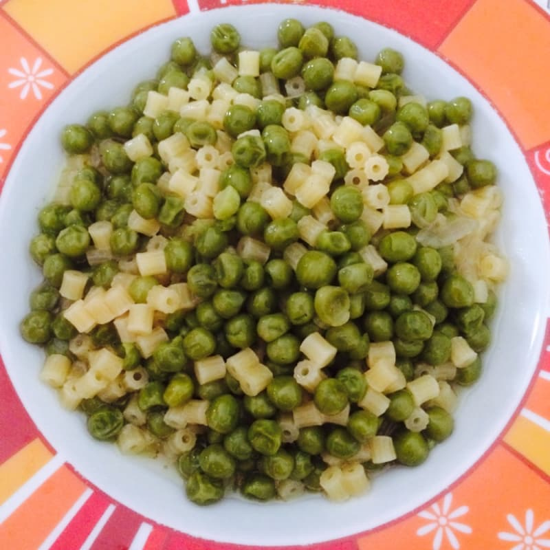 Foto Ricetta Pasta with green peas
