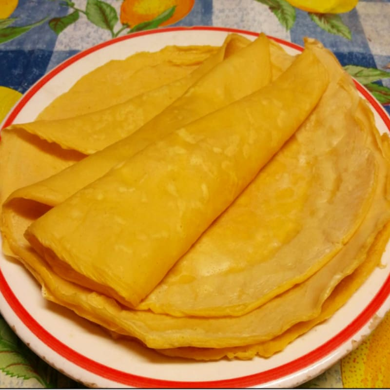 Foto Ricetta Crepes with chickpea flour