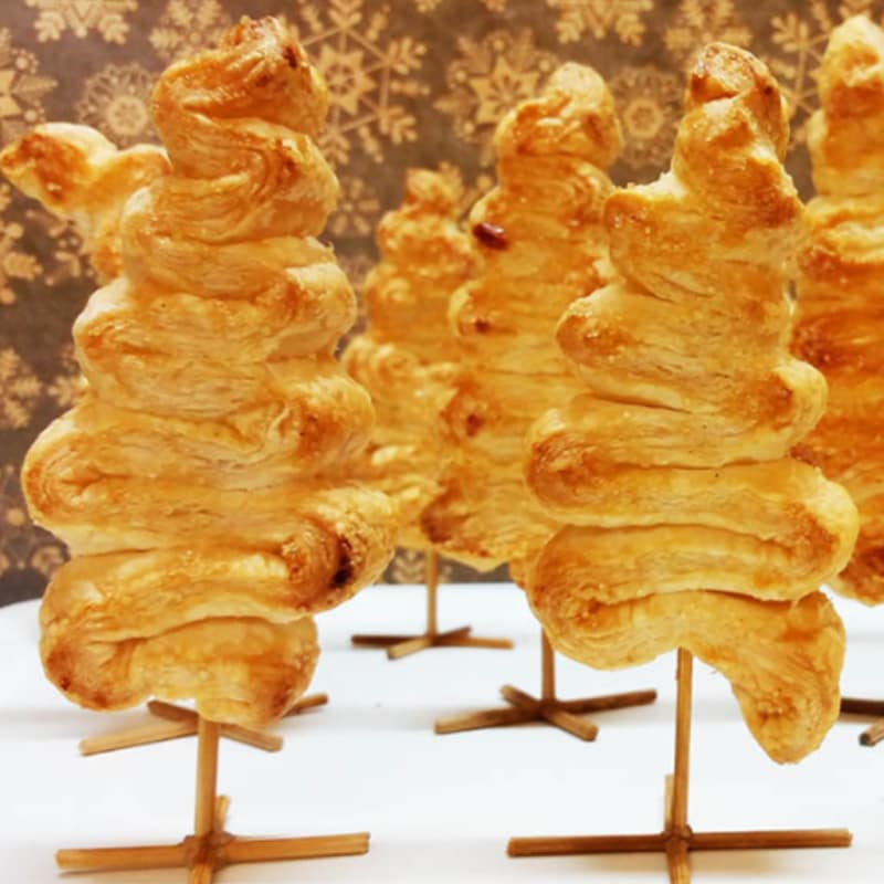 Foto Ricetta Saplings of native sweet puff pastry