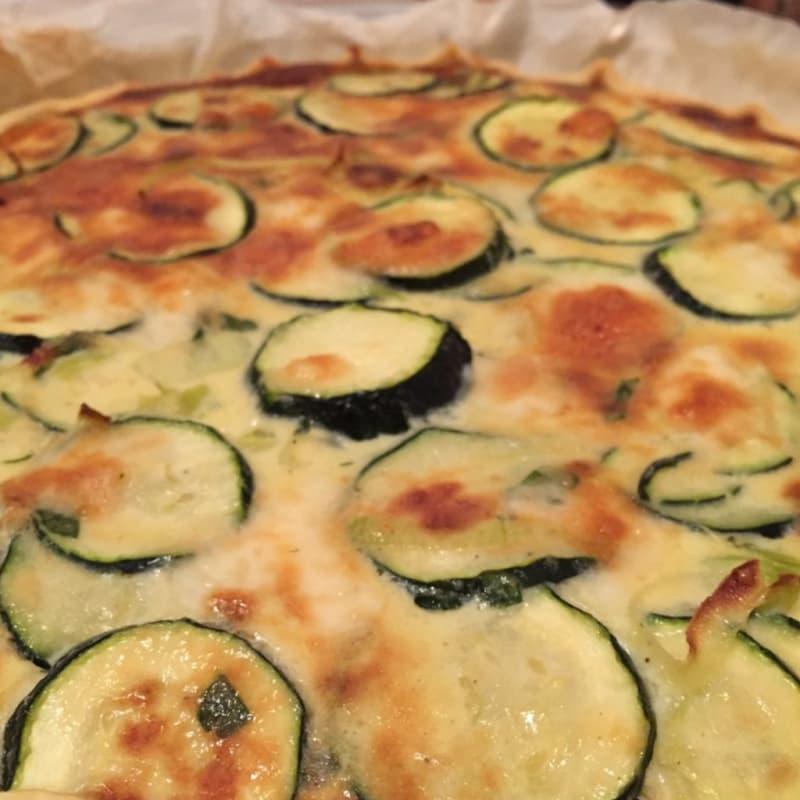 Foto Ricetta Quiche lorraine zucchini