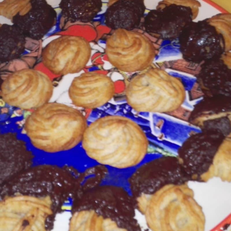 Foto Ricetta Biscottini di pastafrolla montata vegan :