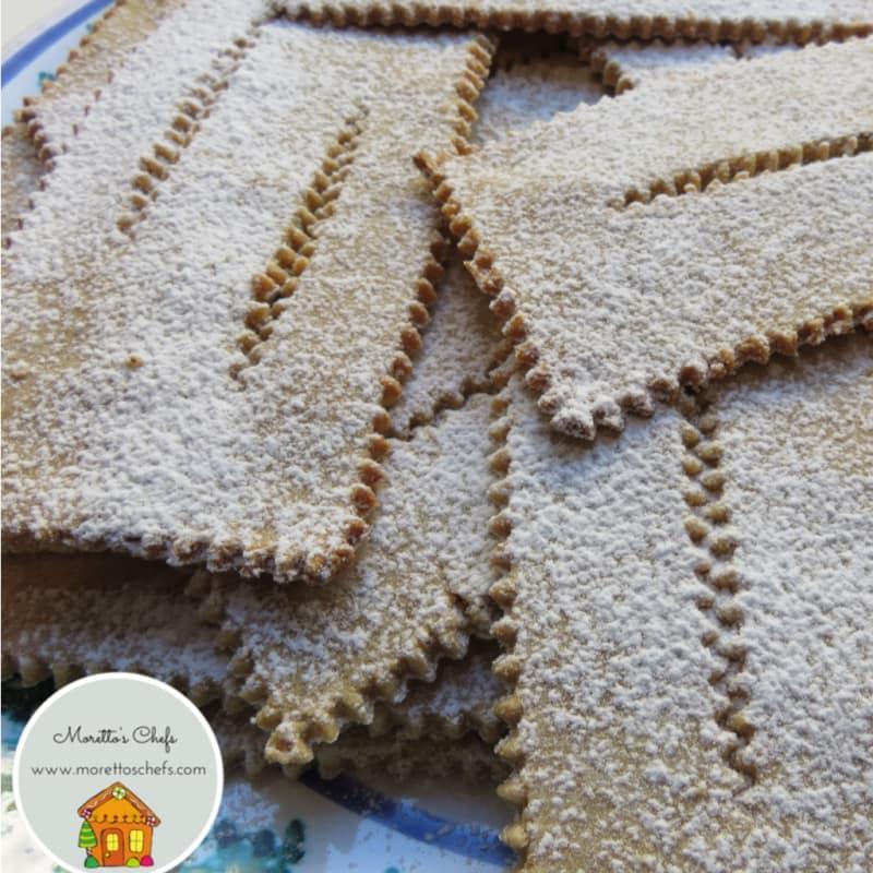 Foto Ricetta Chiacchiere senza glutine al forno