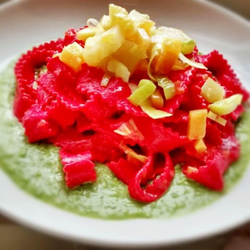 Foto Ricetta colored noodles