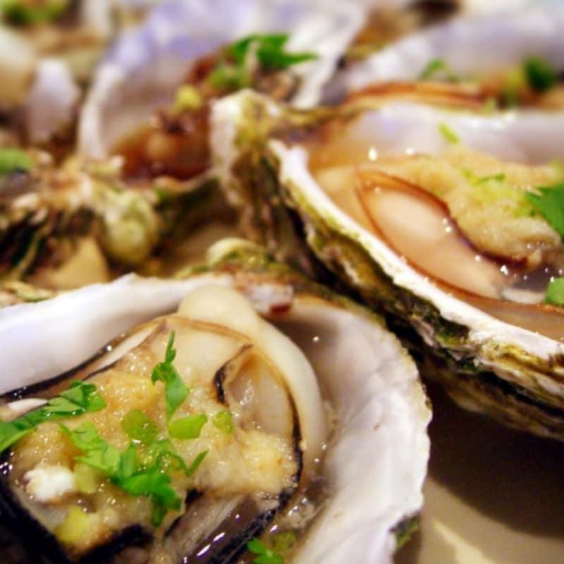 Foto Ricetta Gratin oysters