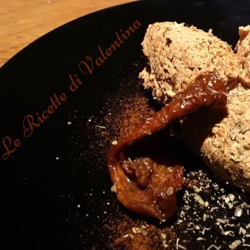Foto Ricetta tofu pate and dried tomatoes