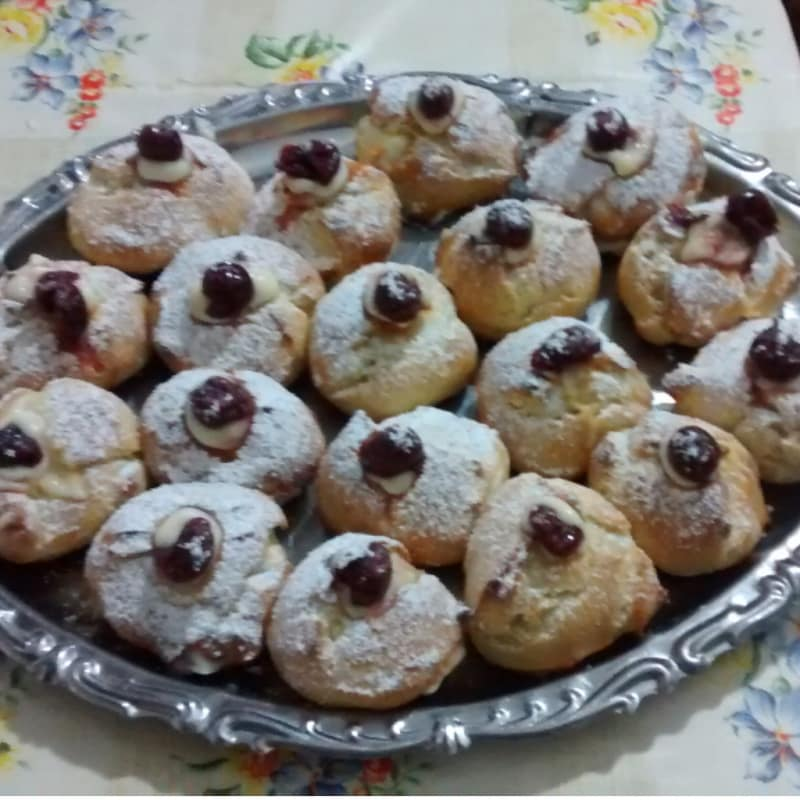 Foto Ricetta Cream puffs homemade