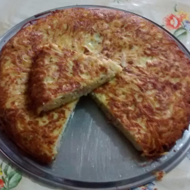 Foto Ricetta Spaghetti Frittata