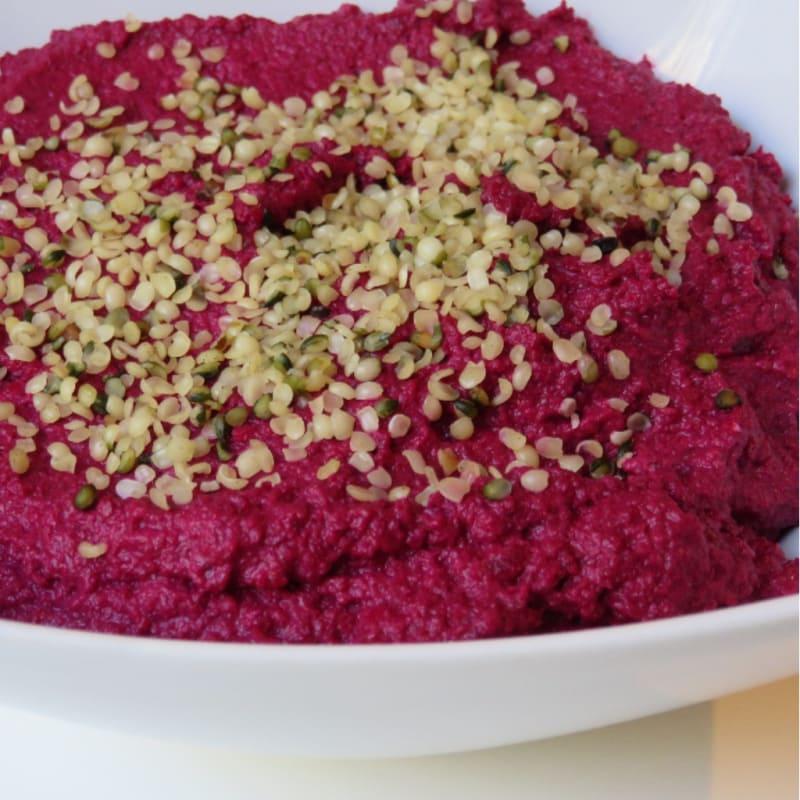 Foto Ricetta Hummus di barbabietola