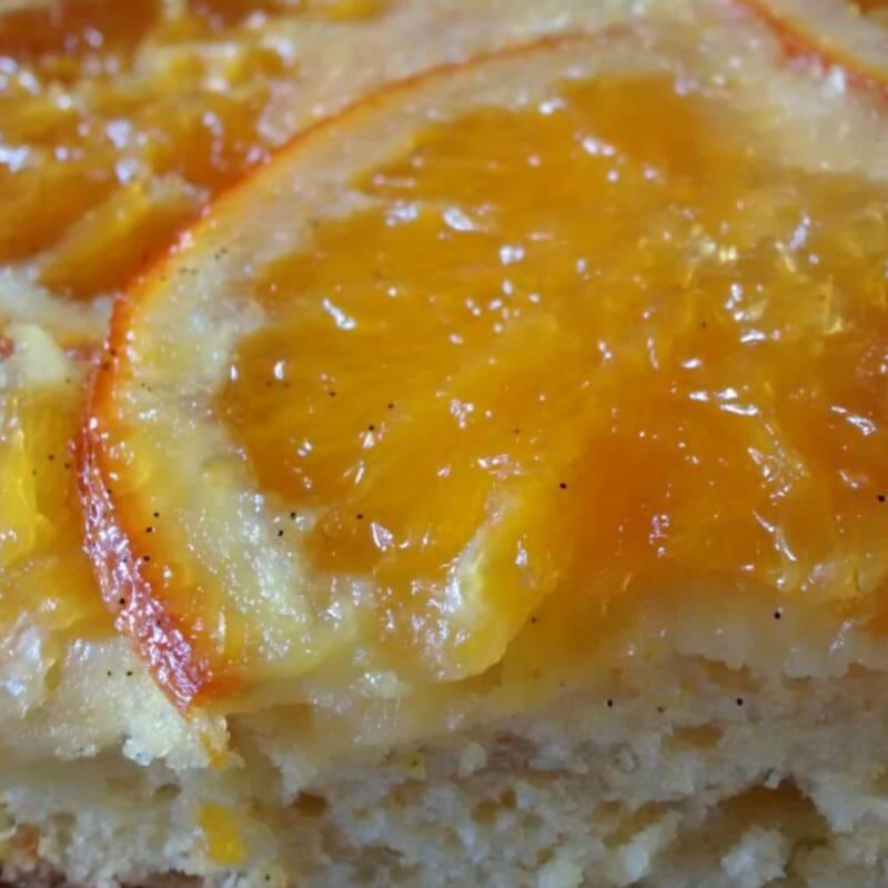 Foto Ricetta Torta all'arancia caramellata