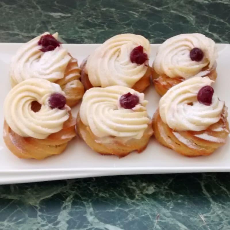 Foto Ricetta Zeppole saint joseph baked