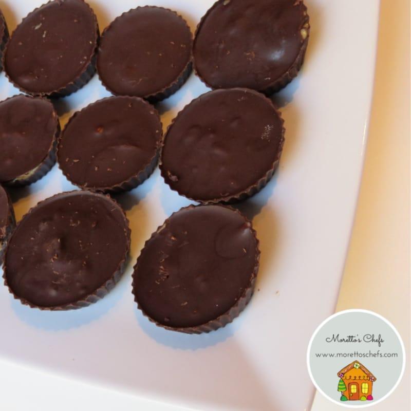 Foto Ricetta Maxi cioccolatini al burro darachidi