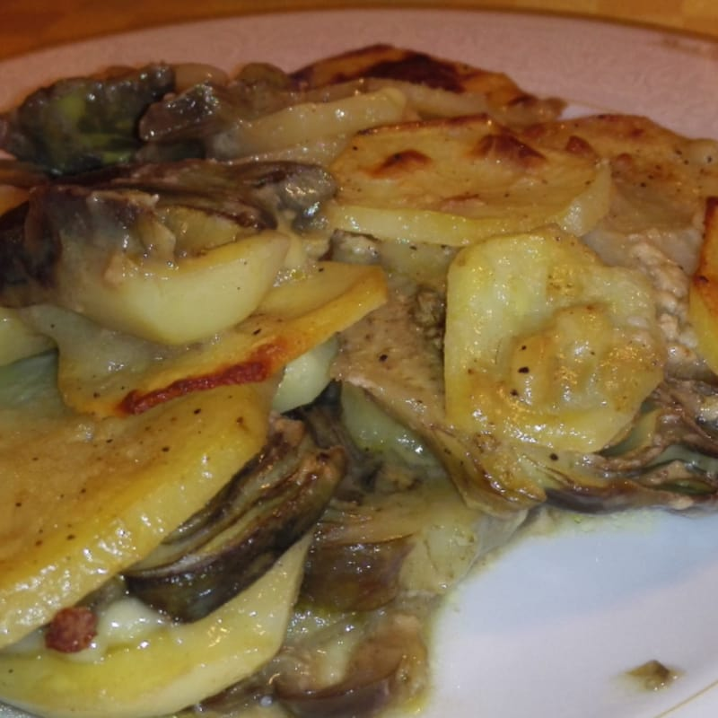 Foto Ricetta Lasagne healthy two-colored vegetables but nutrients
