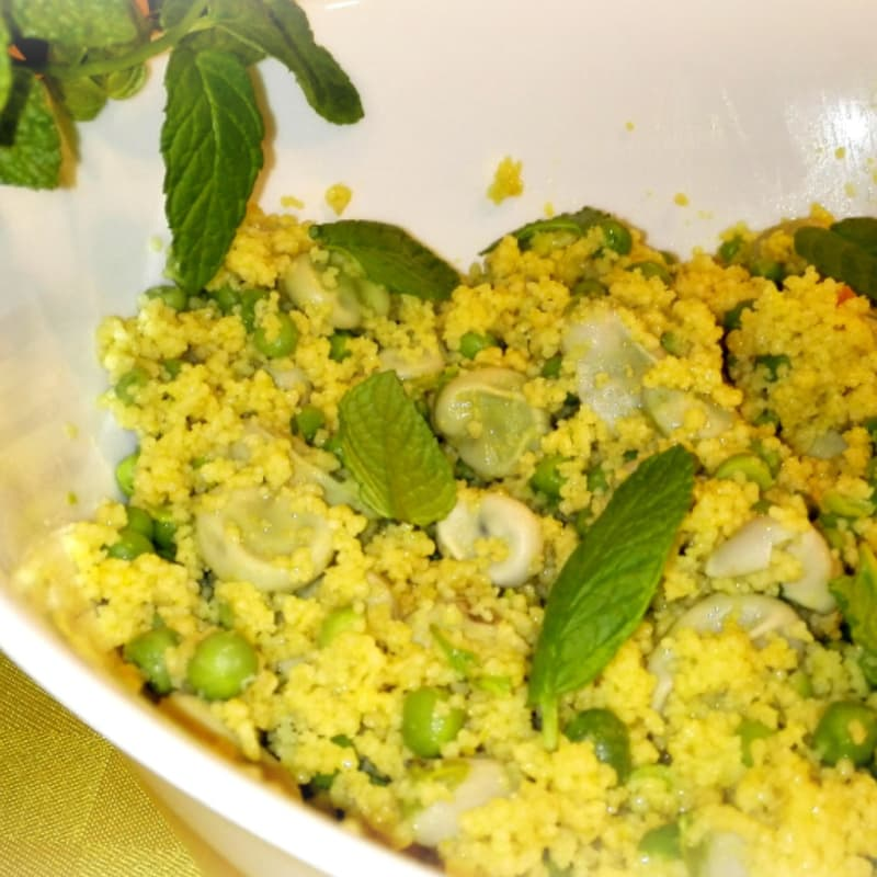 Foto Ricetta Couscous superverde protein-rich easy and economical fiber