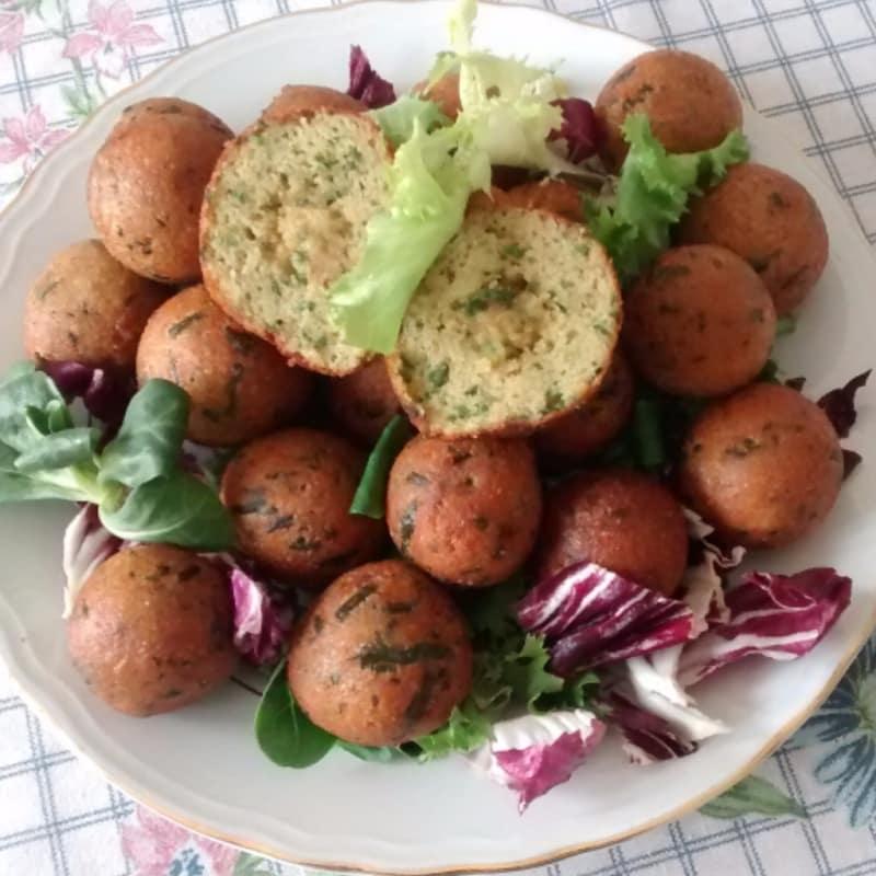 Foto Ricetta Meatballs of wild asparagus