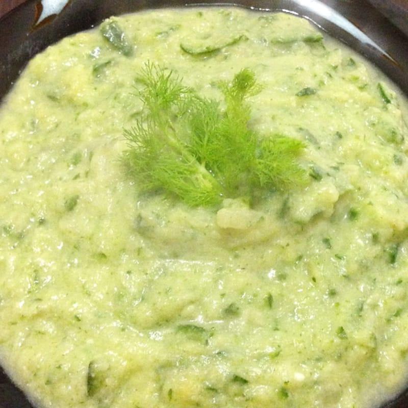 Foto Ricetta Vellutata zucchine finocchi