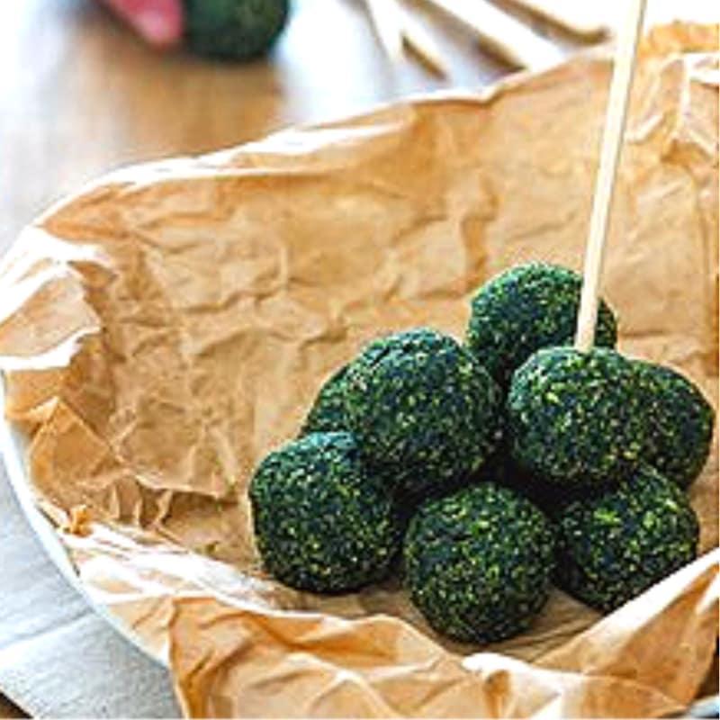 Foto Ricetta Polpette con spinaci e semi chia