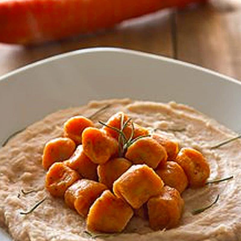 Foto Ricetta Gnocchi di carote e semi di chia