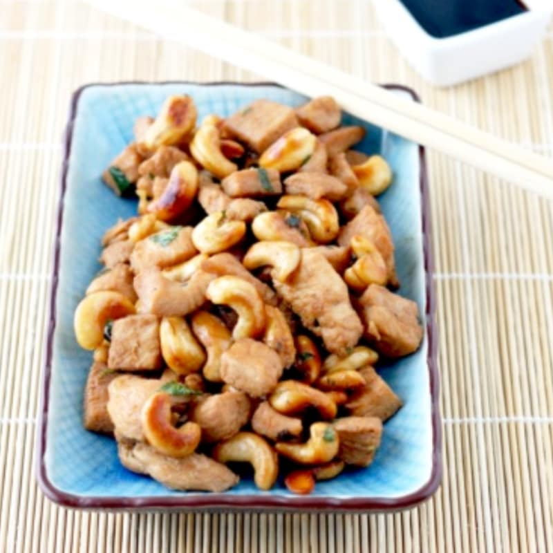 Foto Ricetta Chicken with cashew nuts