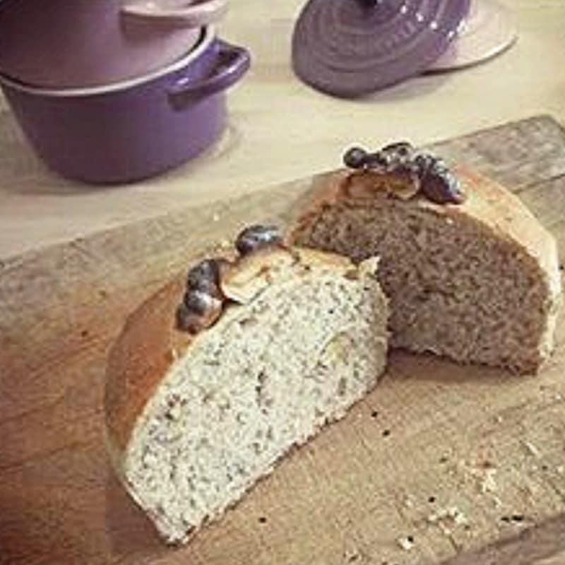 Foto Ricetta Panificando con giorilli: pane alle noci