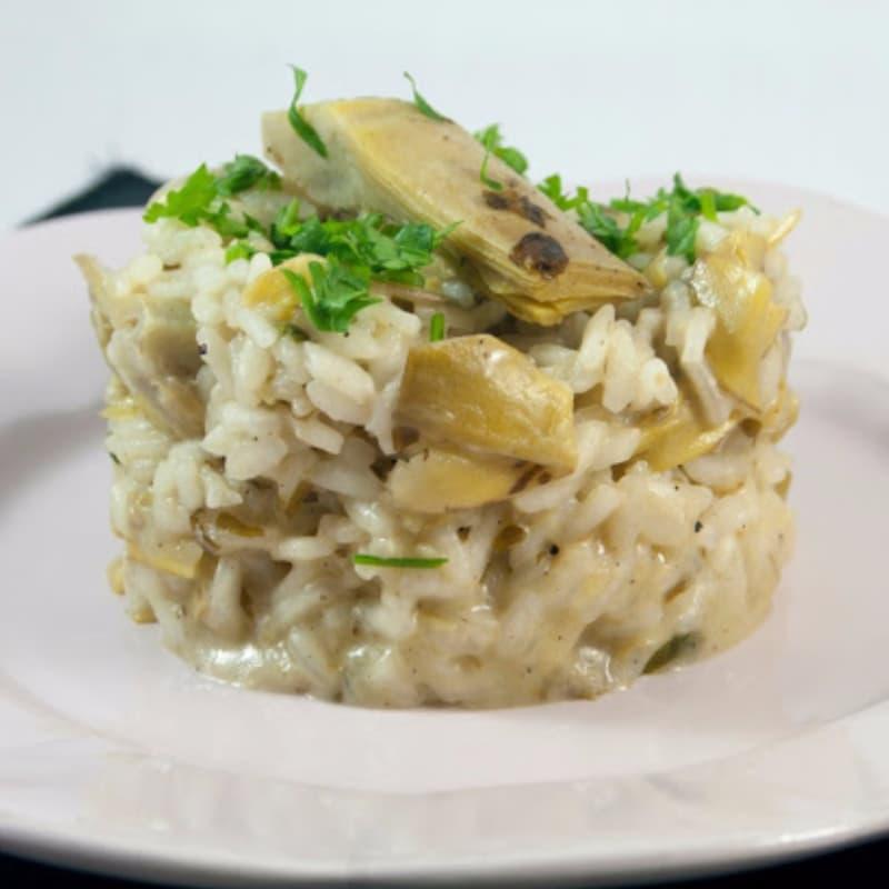 Foto Ricetta Artichokes risotto