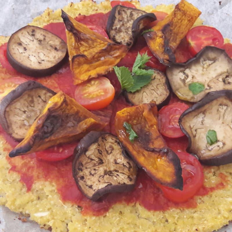 Foto Ricetta Pizza Cavolfiore