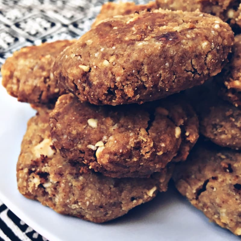 Foto Ricetta cookie stile mantecol