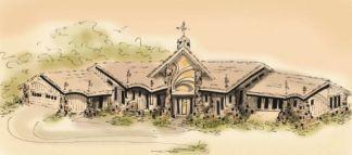 Grand house plan