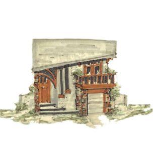 Contemporary house plan