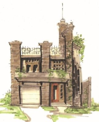 Unusual house plan
