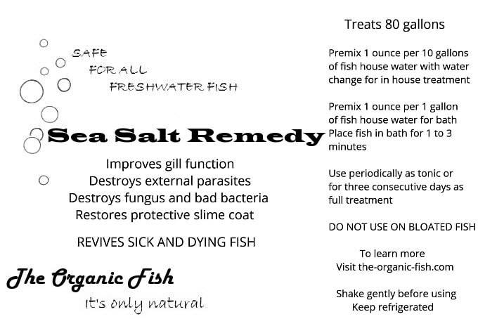 sea salt remedy
