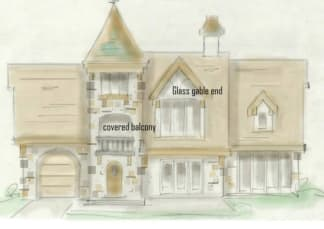 Chateau house plan