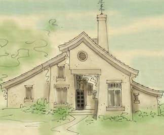 Asian house plan
